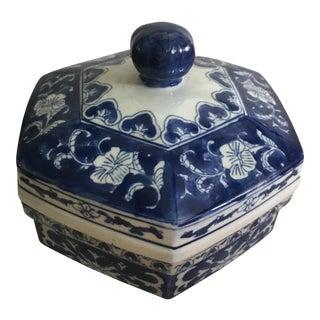 Blue & White Export Box