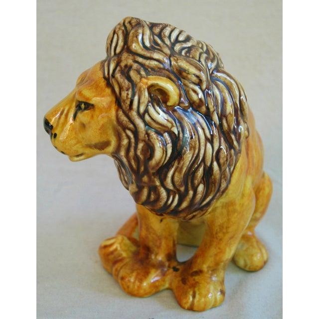 Mid-Century Italian Safari Lion - Image 6 of 7