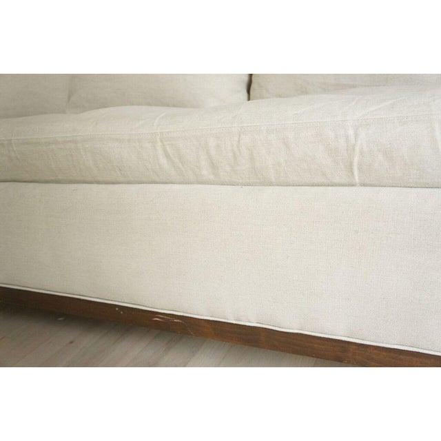 Image of Cisco Home Flax Linen Sofa