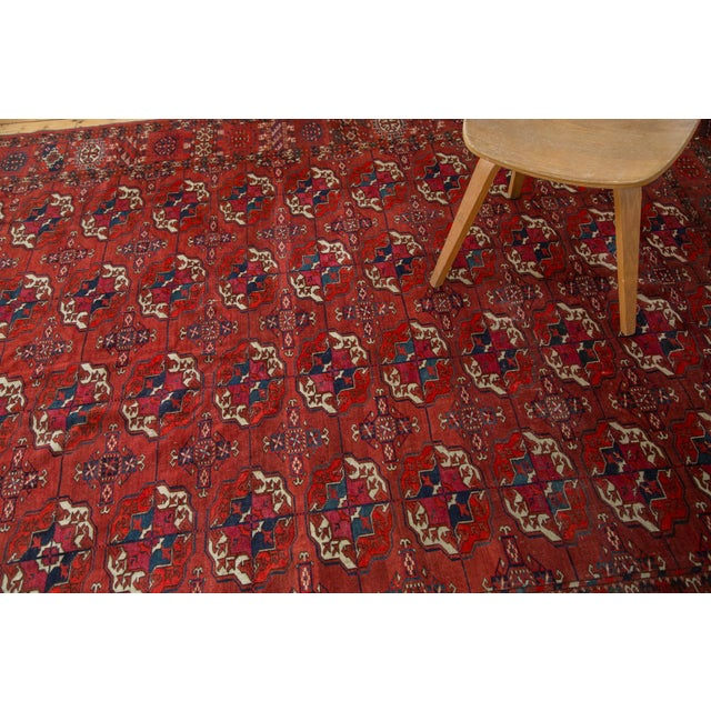 "Antique Tekke Bokhara Carpet - 6'11"" X 10' - Image 10 of 10"