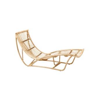 Boho Bamboo Chaise Lounge