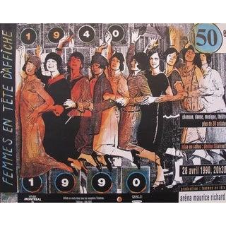 Canadian Conga Line Dancing Poster