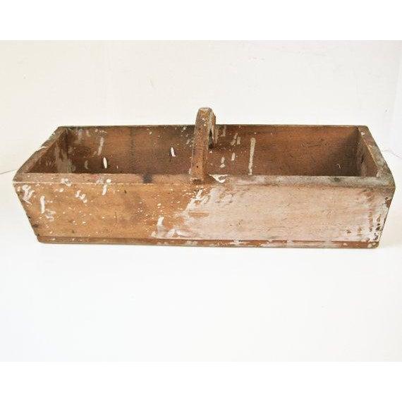 Image of Handmade Primitive Wood Box