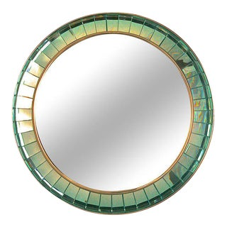 Hand-cut Crystal Glass Mirror by Ghiro