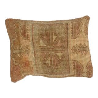Brown Oushak Rug Leon Banilivi Pillow