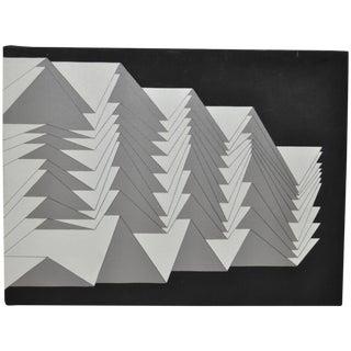 1988 Charles Hersey Vintage Geometric Painting