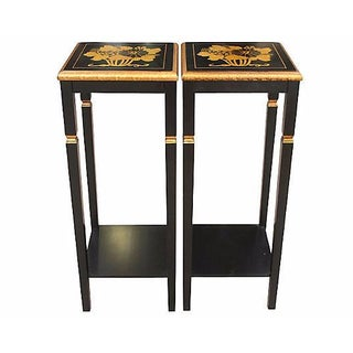 Chinese Accent Tables - A Pair