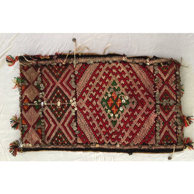 Moroccan Wedding Pillow - Image 2 of 3