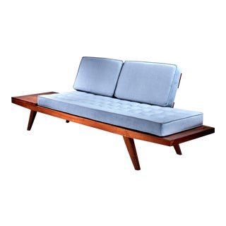 Rude Osolnik Studio Crafted Wooden Sofa, USA, 1960s