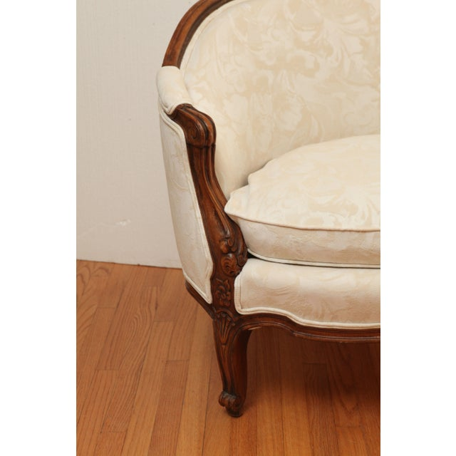 19th Century French Settee in Carved Hardwood - Image 3 of 8