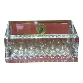 Waterford Lismore Essence Crystal Business Card Holder