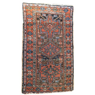 "Antique Decorative Persian Baby Heriz Rug - 2'8"" x 4'6"""