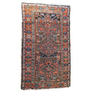 "Antique Decorative Persian Baby Heriz Rug - 2'8"" x 4'6"""