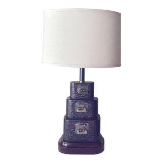 Asian Basket Styled Pagoda Lamp