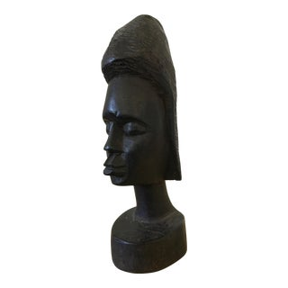 Tribal Carved Bust