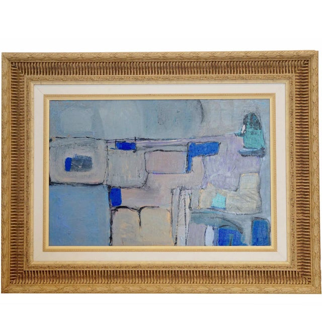 Modernist Abstract Painting - Image 1 of 5