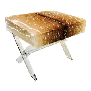 Axis Deer Lucite X Stool