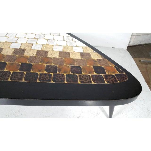 "Image of Richard Hohenberg ""Guitar Pick"" Tile Coffee Table"
