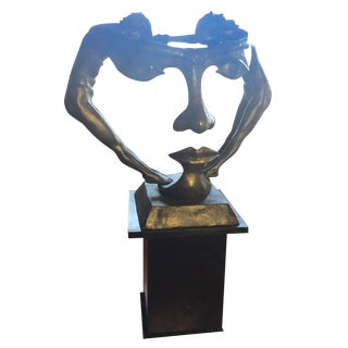 "Bronze ""We Two Together"" Sculpture"