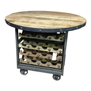 Wine Storage Tasting Table