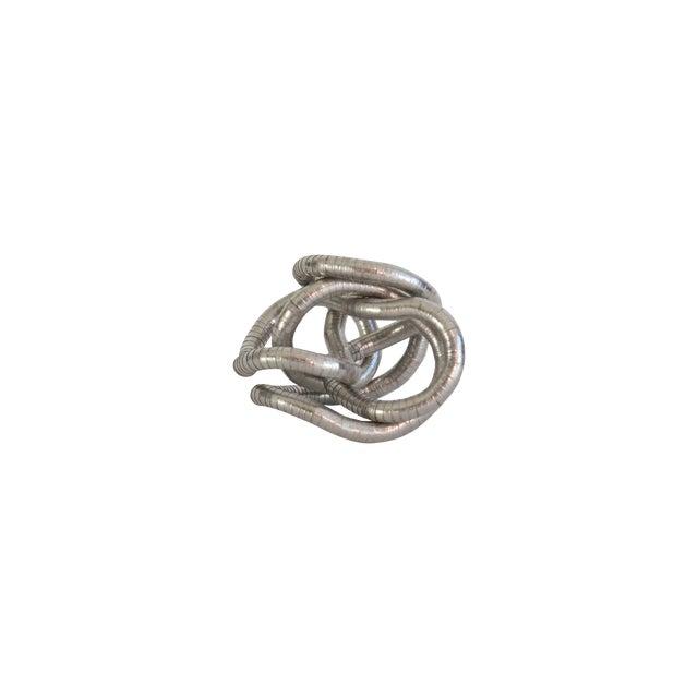 Silver Knot Objet - Image 1 of 4