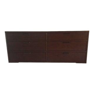 Crate and Barrel 6 Drawer Dresser