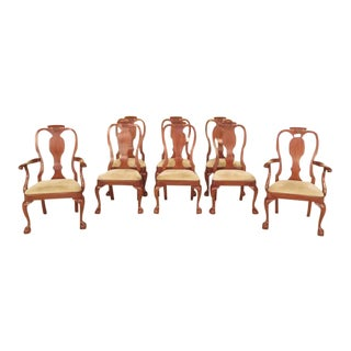 Henkel Harris Ball & Claw Cherry Dining Room Chairs - Set of 8
