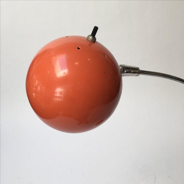 Vintage Orange Arc Lamp - Image 4 of 11