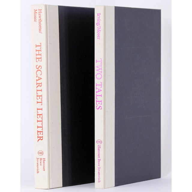Hawthorne and Irving, 2 Moser Illustrated Volumes - Image 3 of 8