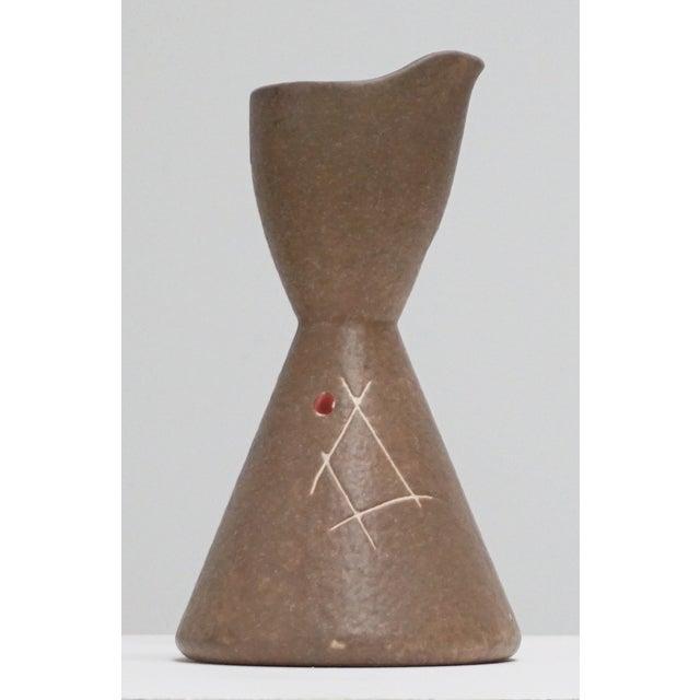 Studio Pottery Mid-Century Ceramic Pitcher - Image 4 of 8