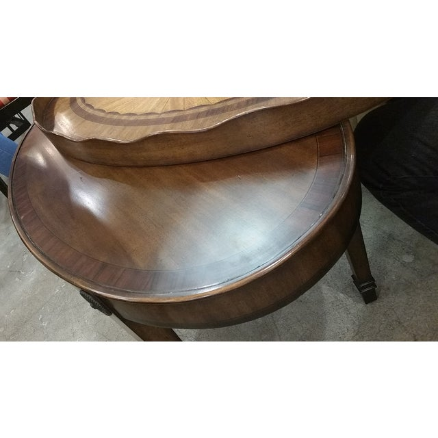 Maitland Smith Oval Tray Table - Image 5 of 8