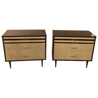 Stylemaker Mid-Century Nightstands - A Pair