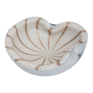 Barbini Murano Glass Bowl