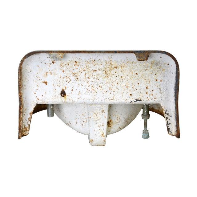 Kohler Vintage Cast Iron Enamel Sink - Image 4 of 4