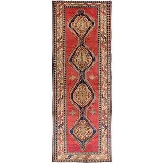 "Meshkin Vintage Persian Rug, 4'6"" x 13'1"""
