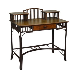 Old Hickory Style Antique Rustic Writing Desk