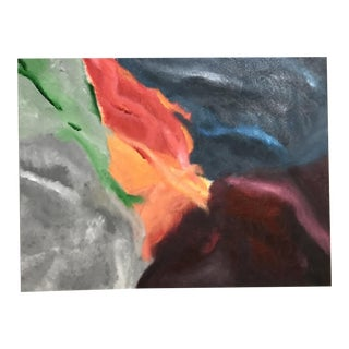 Colorful Original Abstract on Canvas