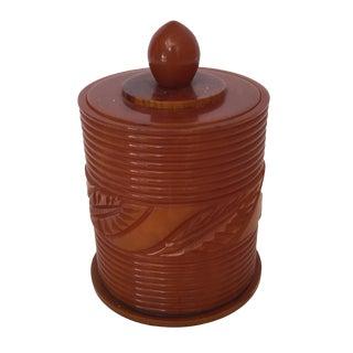 Toffee Toned Bakelite Box