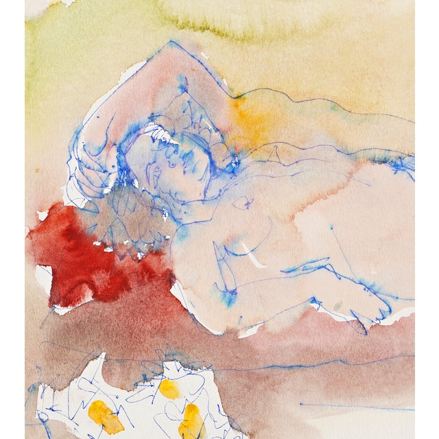 Janet Ament 1955 Reclining Nude - Image 5 of 8