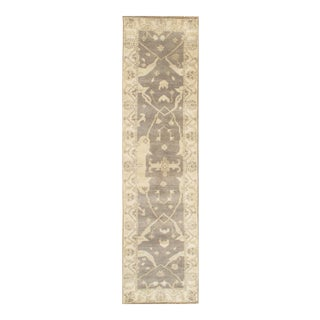 "Pasargad NY Original Oushak Design Hand-Knotted Rug - 2'7"" x 9'11"""