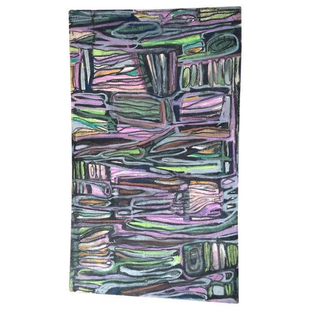 Pastels on Board Modern Art Interiors - Image 1 of 7