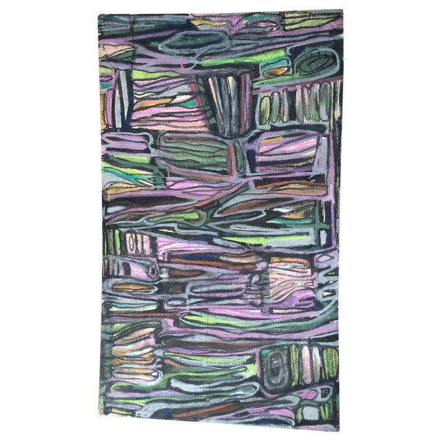 Image of Pastels on Board Modern Art Interiors