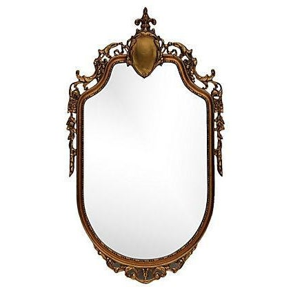 Louis XV Style Carved Giltwood Mirror - Image 1 of 6