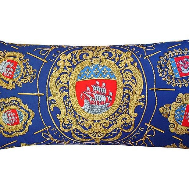 Image of Designer Hermes Hugo Grygkar Silk Scarf Pillow