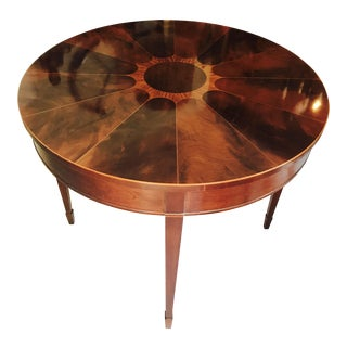 Baker Mahogany Entry Table