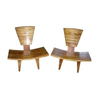Mid-Century Original Chairs - Pair