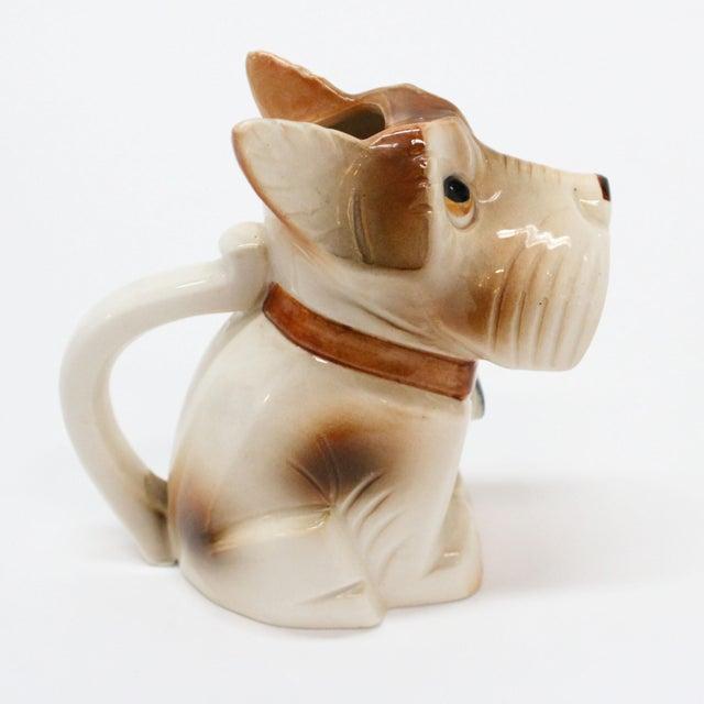 Occupied Japan Ceramic Terrier Creamer - Image 3 of 5