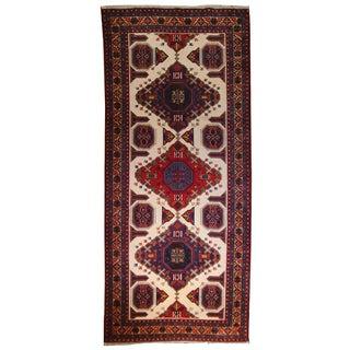 Vintage Persian Adebil Runner - 4′8″ × 10′