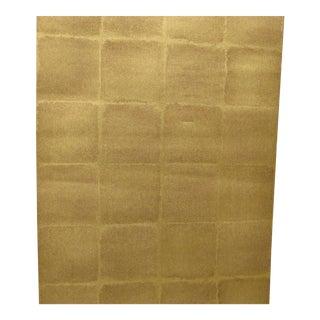 Schumacher Gold Komoro Square Wallpaper - 2 Double Rolls