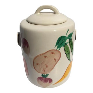 Vintage McCoy Fruit & Veggie Cookie Jar 1940's